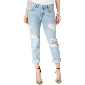 NWT! Guess Super Bleach With Destroy Light Jeans